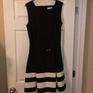 Calvin Klein's flare dress